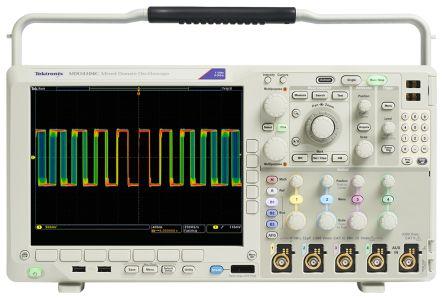 Tektronix MDO4034, MDO4034C Mixed Domain Oscilloscope, 350MHz, 4 Analogue. Ch.