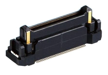 Hirose FunctionMAX FX23, 0.5mm Pitch, 60 Way, 2 Row, Right Angle PCB Header, Surface Mount