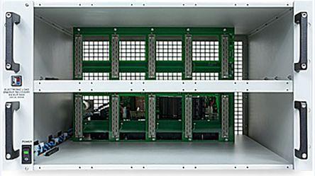 EA Elektro-Automatik EA-ELR 5000 Rack 6U Mainframe, Accessory Type 19 in Rack, For Use With ELM 500 Load Modules, ELR