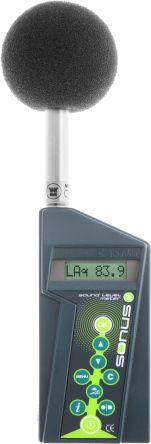 Environmental data logging sound meter