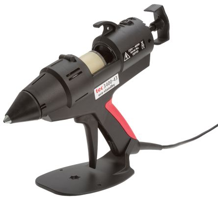 Tec3400 120 V, 230 V Heavy Duty Hot Melt Glue Gun, UK Plug