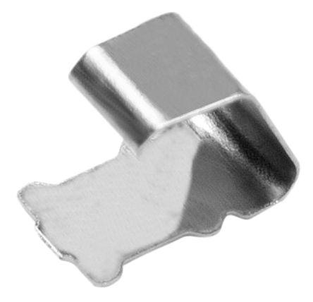 1730842  HARWIN EZ-BoardWare 系列 钛铜合金 接地触点, 表面安装固定, 4.5 x 2.5 x 3.5mm