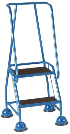 RS PRO 1185mm 2 Rung Steel Steps