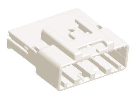 TE Connectivity TH 025 Series, 2 Row 28 Way In-Line Mount Socket Automotive connector housing