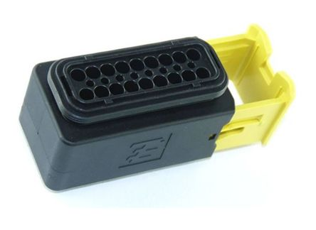 TE Connectivity HDSCS Series, 2 Row 18 Way In-Line Mount Socket Automotive wire connector