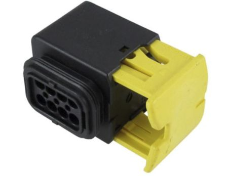 TE Connectivity HDSCS Series, 2 Row 8 Way In-Line Mount Socket Automotive wire connector