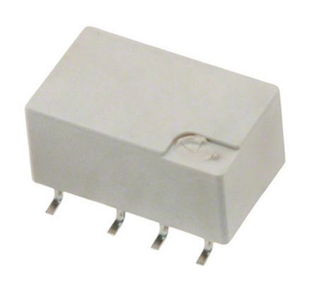 TE Connectivity, 3V dc Coil Non-Latching Relay DPDT, 2A Switching Current PCB Mount, 2 Pole