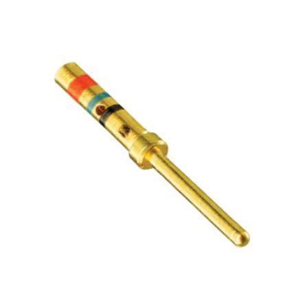 38941-22L | Rundsteckverbinderkontakt (Stecker) Größe 22D 5A Crimp ...