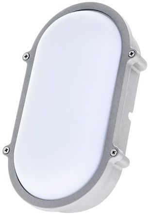 Theben / Timeguard, 15 W Oval Cool White LED Bulkhead Light, 230 V ac, Die Cast, IP65, with White Diffuser