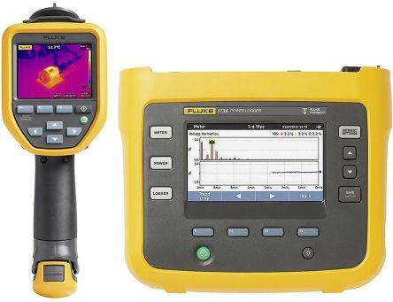 Fluke1736 Power logger with TIS10 Camera