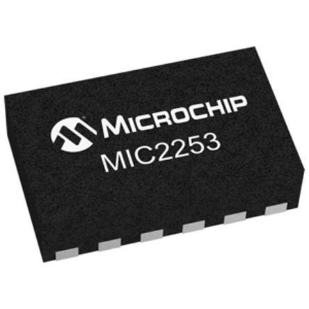 Microchip MIC2253-06YML-TR, Boost Regulator, Boost 3.5A Adjustable, 1.2 MHz 12-Pin, MLF