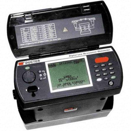 Megger DLR010X Rechargeable NiMH Ohm Meter, Maximum Resistance Measurement 2000 Ω, Resistance Measurement Resolution