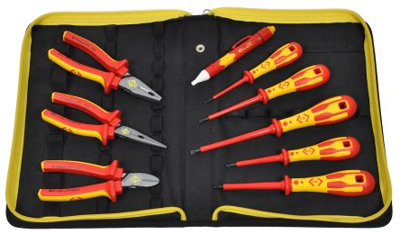 10 Piece VDE/1000 V Electricians Tool Kit product photo