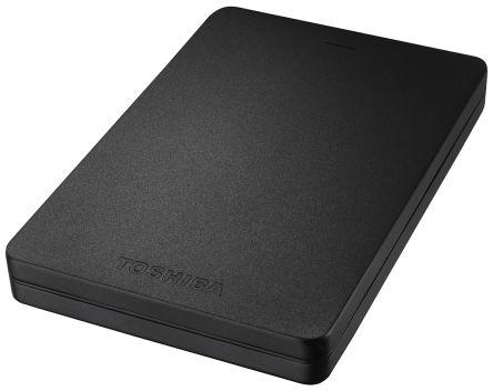 Toshiba Canvio Aluminium Black 2 TB Portable Hard Drive, HDTH320EK3CA