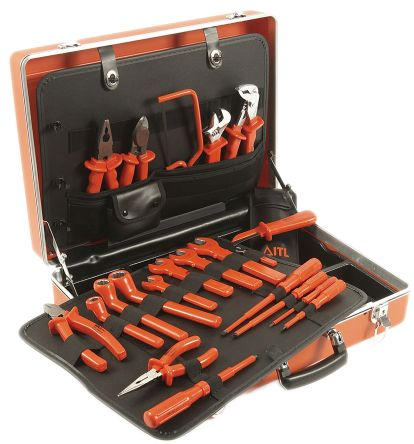 20 Piece VDE/1000 V ESD Tool Kit product photo