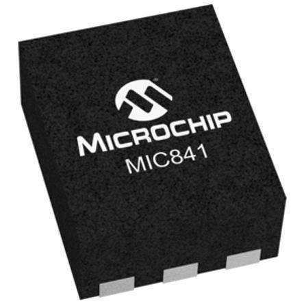 Microchip MIC841LYMT-T5 Comparator, Push-Pull O/P, 1.5 → 5.5 V 6-Pin TDFN