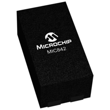 Microchip MIC842HYMT-T5 Comparator, Push-Pull O/P, 1.5 → 5.5 V 4-Pin TDFN