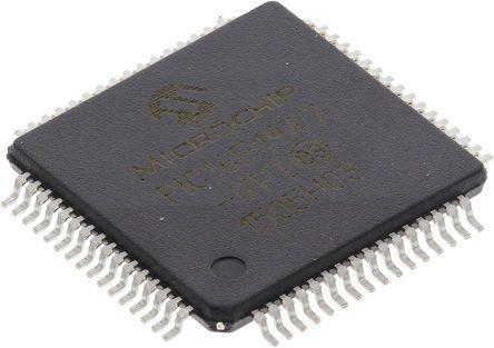 Microchip PIC16F1947-I/PT, 8bit PIC Microcontroller, 32MHz, 28 kB Flash,  64-Pin TQFP
