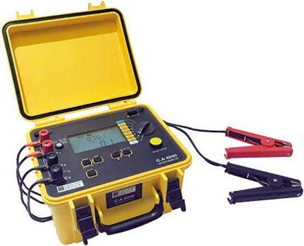 Model CA 6240 Micro Ohm Meter RS Calibration, Maximum Resistance Measurement 399.9 O product photo