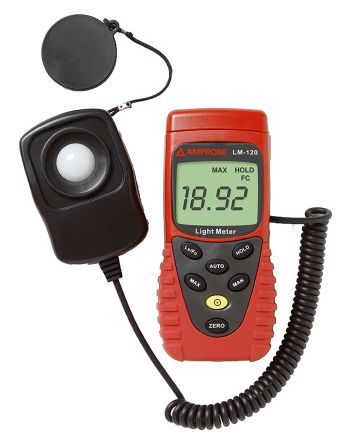 LM-120 Light Meter, 200000lx With RS Calibration product photo