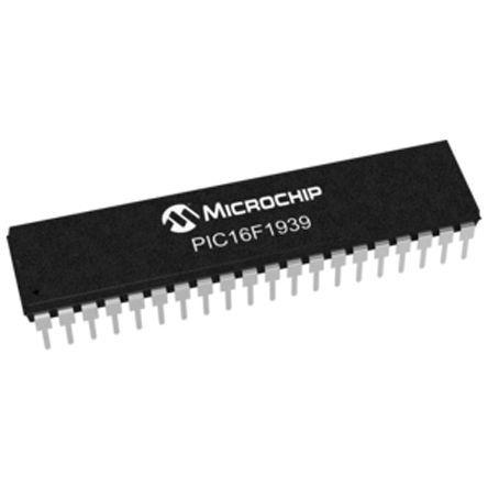 Microchip PIC16F1939-I//P 8bit PIC Microcontroller 32MHz 28 kB Flash 40-Pin