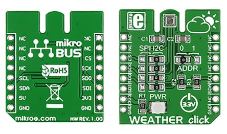 MikroElektronika MIKROE-1978, Temperature Sensor mikroBus Click Board