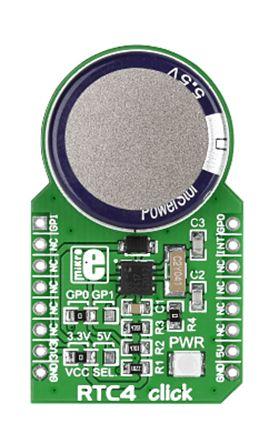 MikroElektronika MIKROE-1891, RTC4 Real Time Clock (RTC) mikroBus Click Board for DS2417