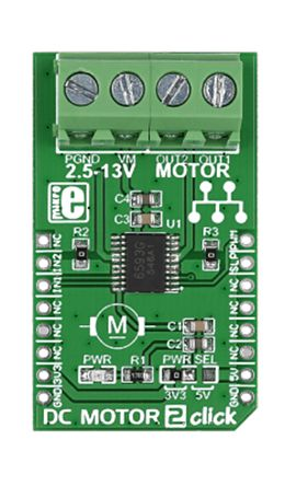 MikroElektronika MIKROE-1911 Click board DC Development Board for TB6593FNG