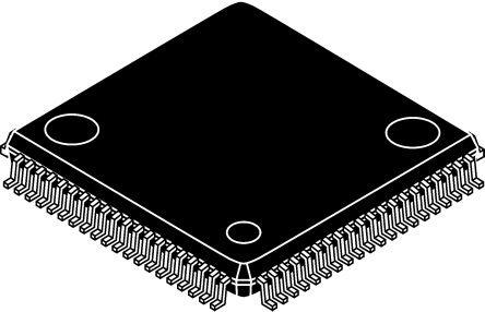 ADV7184BSTZ, Video Decoder NTSC, PAL, SECAM 4-channel 10bit- 3.3 V 80-Pin LQFP