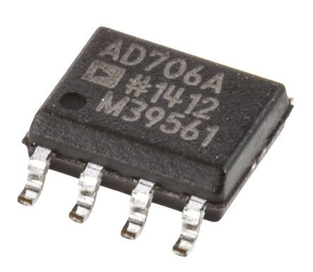 AD706ARZ ,, Op Amp, 800kHz, 8-Pin SOIC product photo