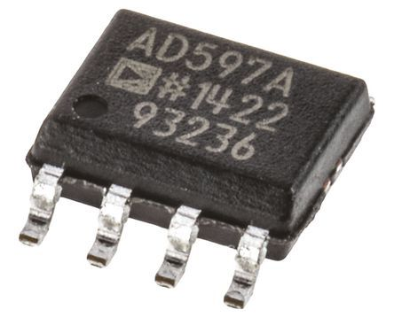 AD597ARZ , Instrumentation Amplifier 15kHz, 5 -> 30 V, 8-Pin SOIC product photo
