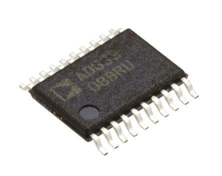 Analog Devices ADG3308BRUZ, Logic Level Translator, 3-State, 1.15 → 5.5 V, 20-Pin TSSOP