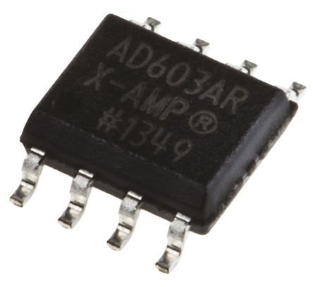 Analog Devices AD603ARZ, Controlled Voltage Amplifier 8-Pin SOIC
