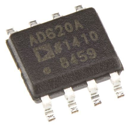 AD620ARZ , Instrumentation Amplifier, 0.125mV Offset 120kHz, 8-Pin SOIC product photo