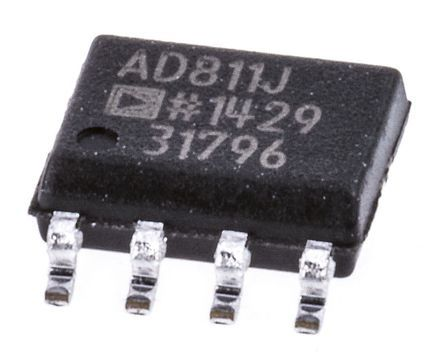 AD811JRZ , Video Amp 2500V/µs, 8-Pin SOIC product photo