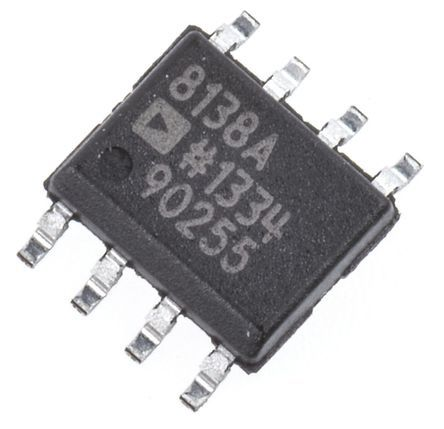 Analog Devices AD8138ARZ, Differential ADC Driver 3 V, 5 V, 9 V 8-Pin SOIC