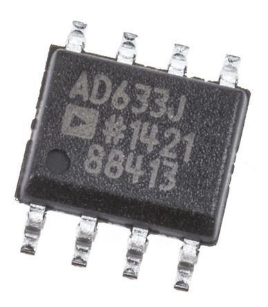 Analog Devices AD633JRZ 4-quadrant Voltage Multiplier, 1 MHz, 8-Pin SOIC