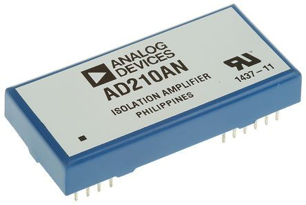 Analog Devices AD210AN, Isolation Amplifier, 12-Pin PDIP