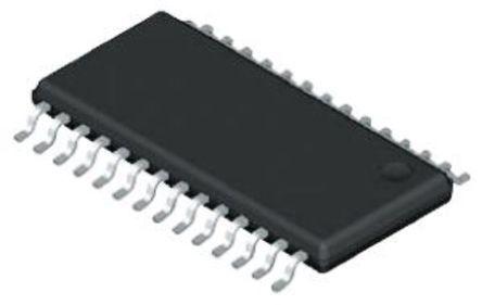 AD1852JRSZ, Audio Converter DAC Dual 24 bit-, 192ksps ±10%FSR Serial (SPI), 28-Pin SSOP