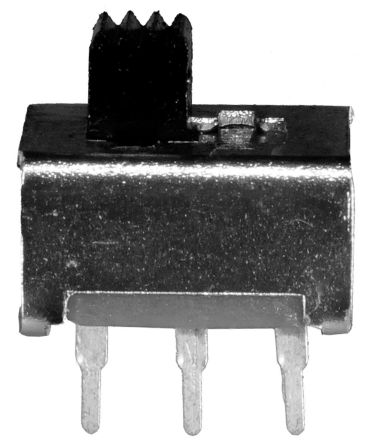 PCB Slide Switch Double Pole Single Throw (DPST) Latching 350 mA @ 30 V dc Slide product photo