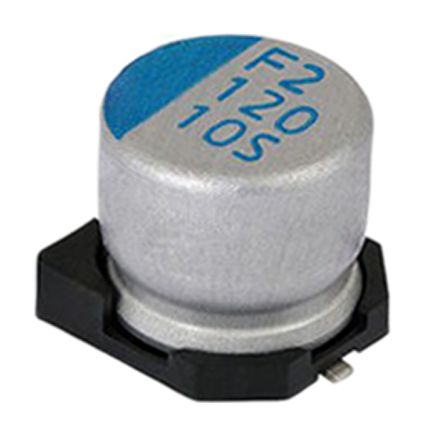 Vishay 150μF Polymer Capacitor 10V dc, Surface Mount - MAL218097403E3