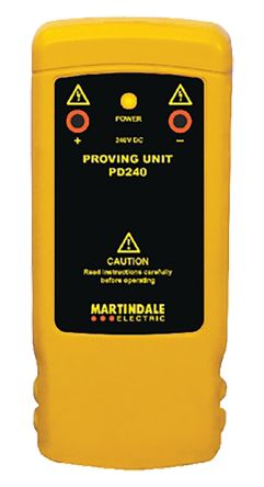 Martindale PD240 Voltage Indicator Proving Unit 2mA 240V dc