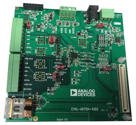 Analog Devices EVAL-AD7124-4SDZ 24-bit ADC Evaluation Board for AD7124-4