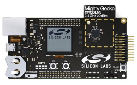Silicon Labs EFR32MG1 Mighty Gecko Mesh 2.4GHz Thread, ZigBee Starter Kit - SLWSTK6000A