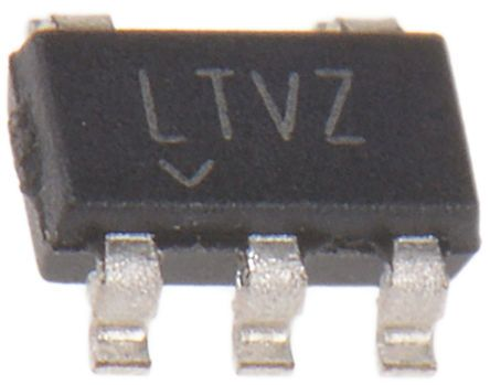 Monolithic Power Systems (MPS) MP1541DJ-LF-P, Boost Converter, Boost Adjustable, 1.6 MHz 5-Pin, TSOT-23