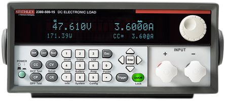 Keithley Electronic DC Load 2380 2380-120-60 0 → 60 A 0 → 120 V Maximum of 250 W, 10 Ω → 7.5 kΩ