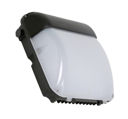 RS PRO, 30 W Square Natural LED Bulkhead Light, Opal, Die Cast Aluminium, IP65, with White Diffuser