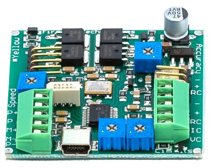 Actuonix, Linear Actuator Control Board, Analogue, Digital Control, 5 → 24 V dc, 4 A, Panel Mount