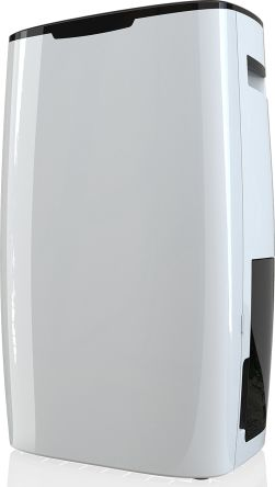 RS PRO Dehumidifier, 3L water tank, 20L/day extraction rate Type F - Schuko plug, Type G - British 3-pin