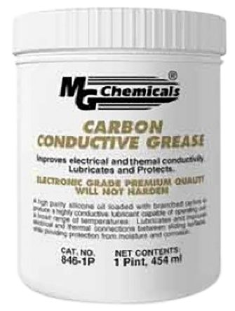 MG Chemicals Carbon Conductive Silicone Grease 454 ml Tub Carbon Conductive 846